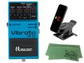 【即納可能】BOSS Vibrato VB-2w (J) + KORG Pitchclip 2 PC-2 + マークスオリジナルクロス セット(新品)【送料無料】