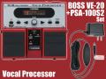 【即納可能】BOSS VE-20 + 純正ACアダプター「PSA-100S2」セット(新品)【送料無料】