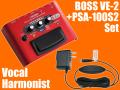 【即納可能】BOSS VE-2 + 純正ACアダプター「PSA-100S2」セット(新品)【送料無料】