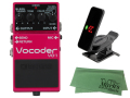 【即納可能】BOSS Vocoder VO-1 + KORG Pitchclip 2 PC-2 + マークスオリジナルクロス セット(新品)【送料無料】