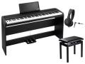 【即納可能】KORG B1SP BK ブラック + 高低自在椅子 Roland BNC-05BK2 + モニターヘッドホン audio-technica ATH-EP100 セット(新品)【送料無料】