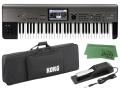 【即納可能】KORG KROME EX 61 Key Model + SC-KINGKORG/KROME + DS-1H + マークスオリジナルクロス セット(新品)【送料無料】