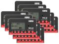 【まとめ買い】KORG MA-2 ブラック&レッド MA-2-BKRD 10個セット(新品)【送料無料】