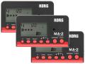 【まとめ買い】KORG MA-2 ブラック&レッド MA-2-BKRD 3個セット(新品)【送料無料】
