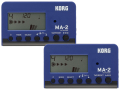 【まとめ買い】KORG MA-2 ブルー&ブラック MA-2-BLBK 2個セット(新品)【送料無料】【ゆうパケット利用】
