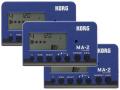 【まとめ買い】KORG MA-2 ブルー&ブラック MA-2-BLBK 3個セット(新品)【送料無料】