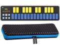 【即納可能】KORG nanoKEY2 BLYL ブルー&イエロー + 専用キャリングケースセット(新品)【送料無料】