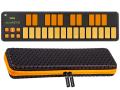 【即納可能】KORG nanoKEY2 ORGR オレンジ&グリーン + 専用キャリングケースセット(新品)【送料無料】