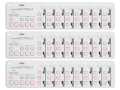 【まとめ買い】KORG nanoKONTROL2 WH ホワイト 3個セット(新品)【送料無料】