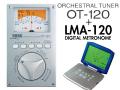 KORG ORCHESTRAL TUNER OT-120 + DIGITAL METRONOME LMA-120セット(新品)【送料無料】