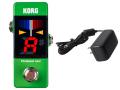 【即納可能】KORG Pitchblack mini PB-mini GR グリーン + ACアダプター KA181 セット(新品)【送料無料】