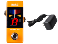 【即納可能】KORG Pitchblack mini PB-mini OR オレンジ + ACアダプター KA181 セット(新品)【送料無料】