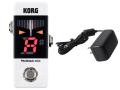 【即納可能】KORG Pitchblack mini PB-mini WH ホワイト + ACアダプター KA181 セット(新品)【送料無料】
