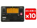 【まとめ買い】KORG TM-50-BK ブラック 10個セット(新品)【送料無料】