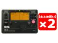 【まとめ買い】KORG TM-50-BK ブラック 2個セット(新品)【送料無料】