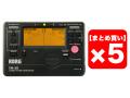 【まとめ買い】KORG TM-50-BK ブラック 5個セット(新品)【送料無料】