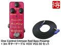 【国内正規品】One Control Crimson Red Bass Preamp + VOX VGS-30 セット(新品)【送料無料】