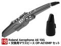 【即納可能】Roland Aerophone AE-10G(グラファイト・ブラック) + 交換用純正マウスピース OP-AE10MP セット(新品)【送料無料】