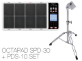 Roland OCTAPAD SPD-30 + パッドスタンド「PDS-10」セット(新品)【送料無料】