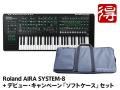 Roland AIRA SYSTEM-8 + デビュー・キャンペーン「SYSTEM-8専用キャリング・ケース」セット(新品)【送料無料】