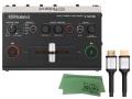 【即納可能】Roland V-02HD + RCC-3-HDMI + マークスミュージック オリジナルクロス セット(新品)【送料無料】