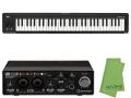 【即納可能】Steinberg UR22C + KORG microKEY2 Air 61鍵盤モデル [MICROKEY2-61AIR] + マークスオリジナルクロス セット(新品)【送料無料】