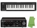 【即納可能】Steinberg UR22C + KORG microKEY2 37鍵盤モデル [MICROKEY2-37] + マークスオリジナルクロス セット(新品)【送料無料】