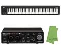 【即納可能】Steinberg UR22C + KORG microKEY2 61鍵盤モデル [MICROKEY2-61] + マークスオリジナルクロス セット(新品)【送料無料】