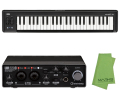 【即納可能】Steinberg UR22C + KORG microKEY2 Air 49鍵盤モデル [MICROKEY2-49AIR] + マークスオリジナルクロス セット(新品)【送料無料】
