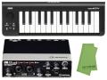 【即納可能】Steinberg UR22mkII + KORG microKEY 25鍵盤モデル [MICROKEY-25] + マークスオリジナルクロス セット(新品)【送料無料】