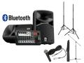 【スピーカースタンド+マイクセット付】YAMAHA STAGEPAS 400BT(Bluetooth対応)(新品)【送料無料】