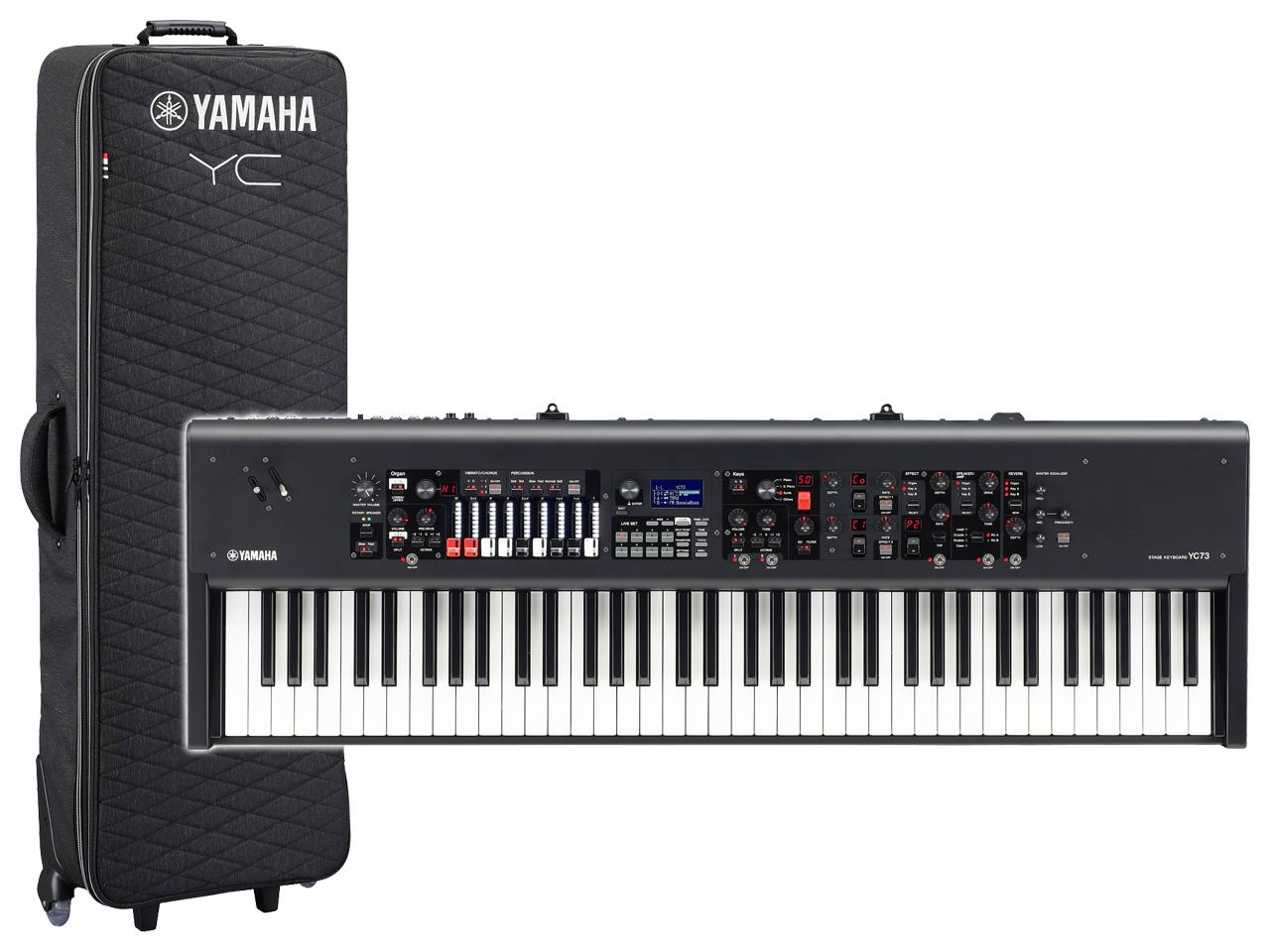 【即納可能】YAMAHA YC73 + 専用プレミアムソフトケース SC-YC73 セット(新品)【送料無料】