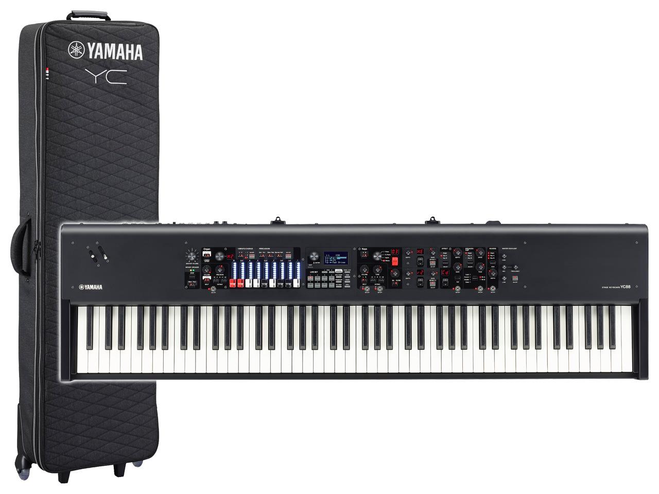 【即納可能】YAMAHA YC88 + 専用プレミアムソフトケース SC-YC88 セット(新品)【送料無料】