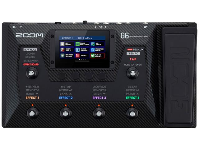【即納可能】ZOOM G6(新品)【送料無料】