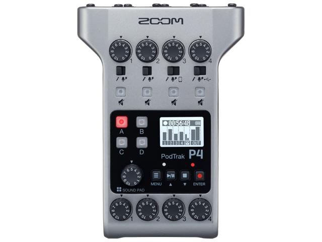 【即納可能】ZOOM PodTrak P4(新品)【送料無料】