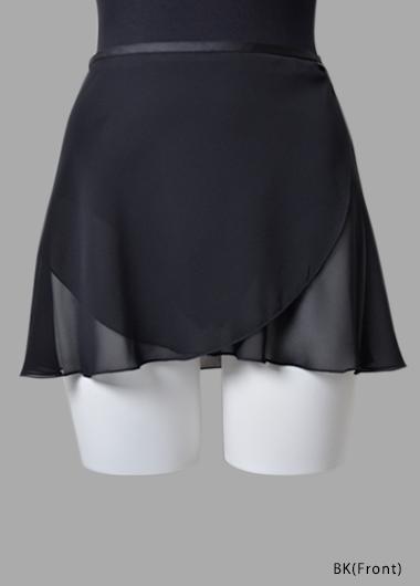 バレエウェア・巻きスカート ショート・1