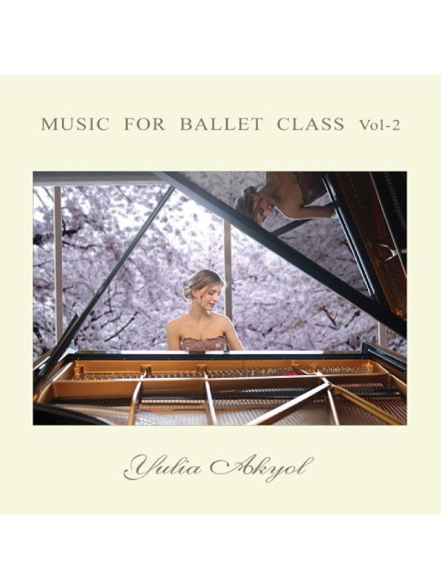 バレエウェア・Music for ballet class vol-2・4