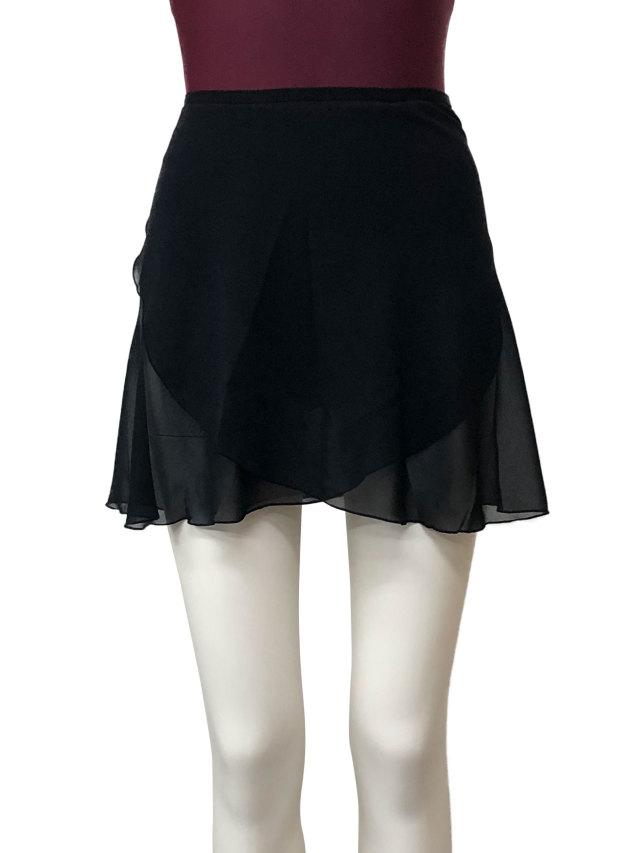 バレエウェア・シフォン巻きスカート・1