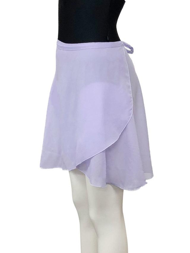 バレエウェア・巻きスカート ラベンダー・7