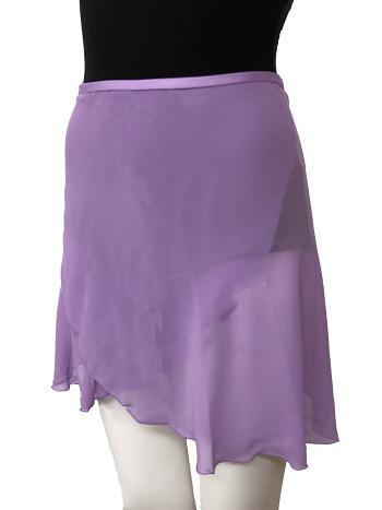 巻スカート ライラック