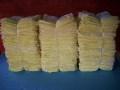 おしぼりウエス 数量どっさり (黄色)15Kg