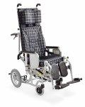 カワムラサイクルティルト&フルリクライニング車いすAYK-40EL