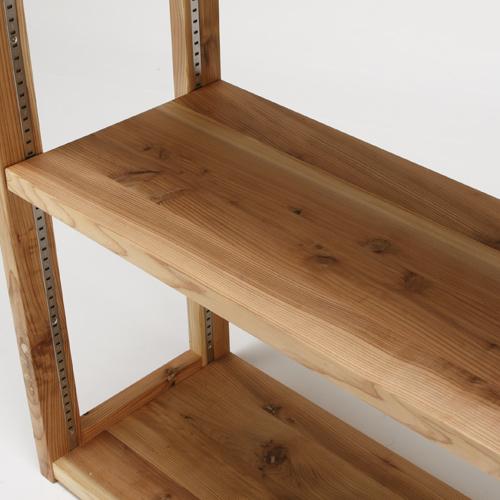 杉のシェルフ用オプション棚板〔サイズオーダー〕 杉無垢棚板 強化ガラス棚板
