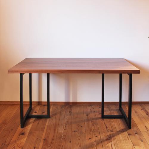 ウォールナット 無垢 ダイニングテーブル 7枚接ぎ 天板 サイズオーダー 厚さ2.7cm 4.2cm 天然木製 送料無料