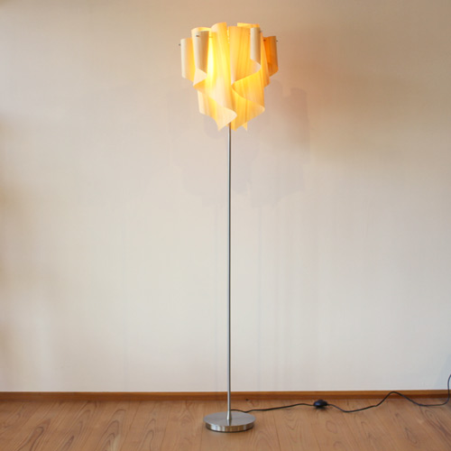 フロアランプ アウロウッド ヒノキドレープ照明 リビング ベッドルーム DI CLASSE