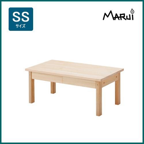 ヒノキスリムローテーブルSS型