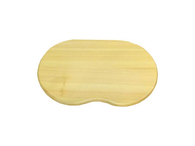ビーンズマウスパッド 国産ヒノキ天然木製
