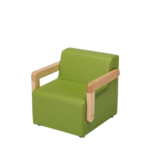 ちびソファ/アップルグリーン