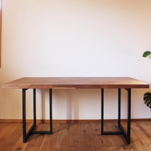 ウォールナット 無垢 ダイニングテーブル モザイクジョイント 天板 サイズオーダー 厚さ2.7cm 4.2cm 天然木製 送料無料