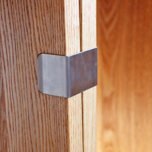 ジョイント金具 つみかさねラック 連結用 タモ無垢 ウォールナット無垢 天然木製 ラック ずれ防止